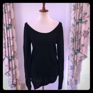 NWT Express Asymmetrical Sweater